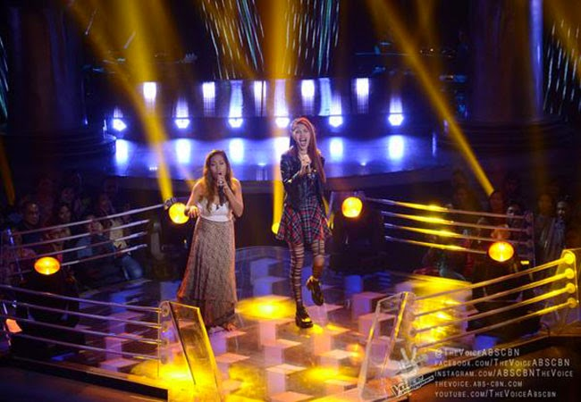 Watch Ferns Tosco vs Krystina Ng of Team Apl's The Voice Final Battle Rounds December 21