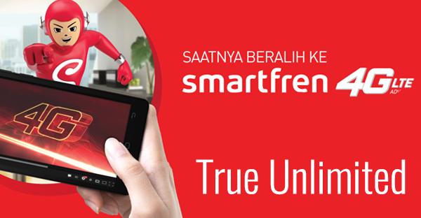 Internetan Sepuasnya Menggunakan Smartfren 4G Unlimited