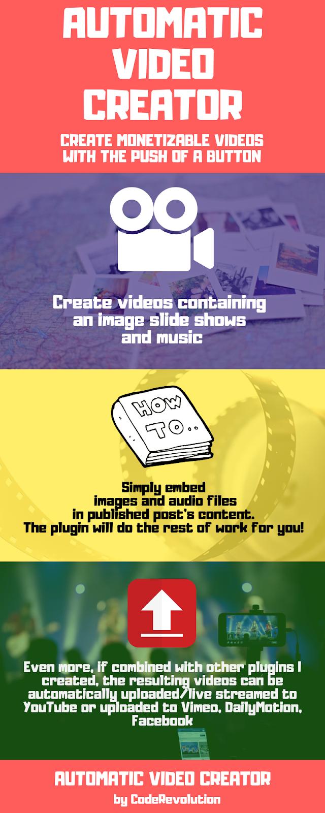 Automatic Video Creator Plugin