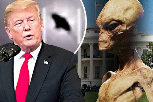 Donald Trump: Fui informado sobre os avistamentos de OVNIs