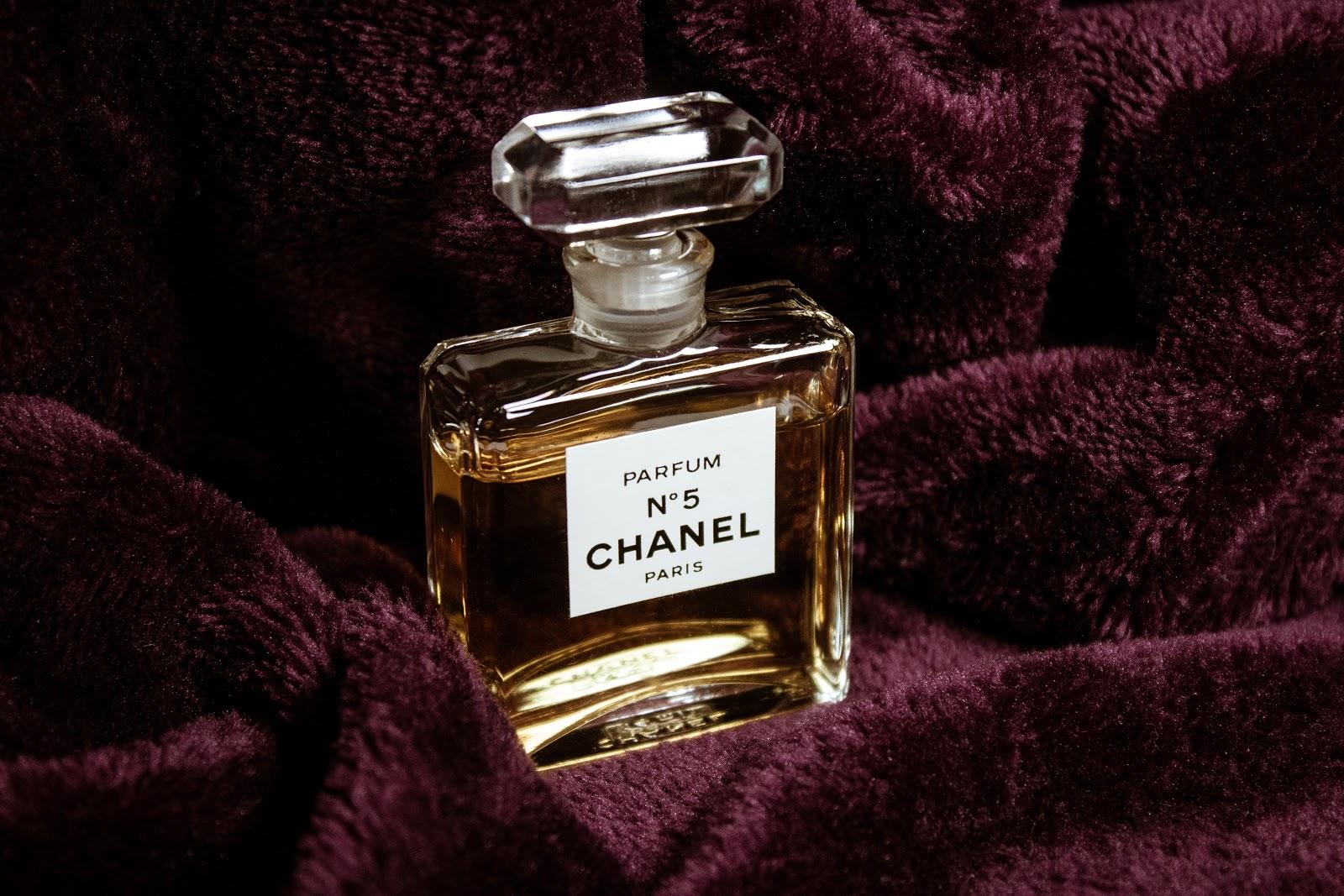 シャネルの五番の香水