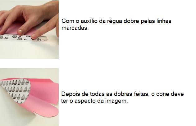 cone+7 - Como fazer cone para arroz/ pétalas