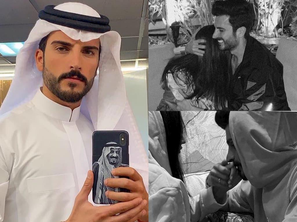 هكذا اكتشف الجمهور خطوبة الفنان السعودي مهند الحمدي من الفاشينيستا اللبنانية فرح مراد