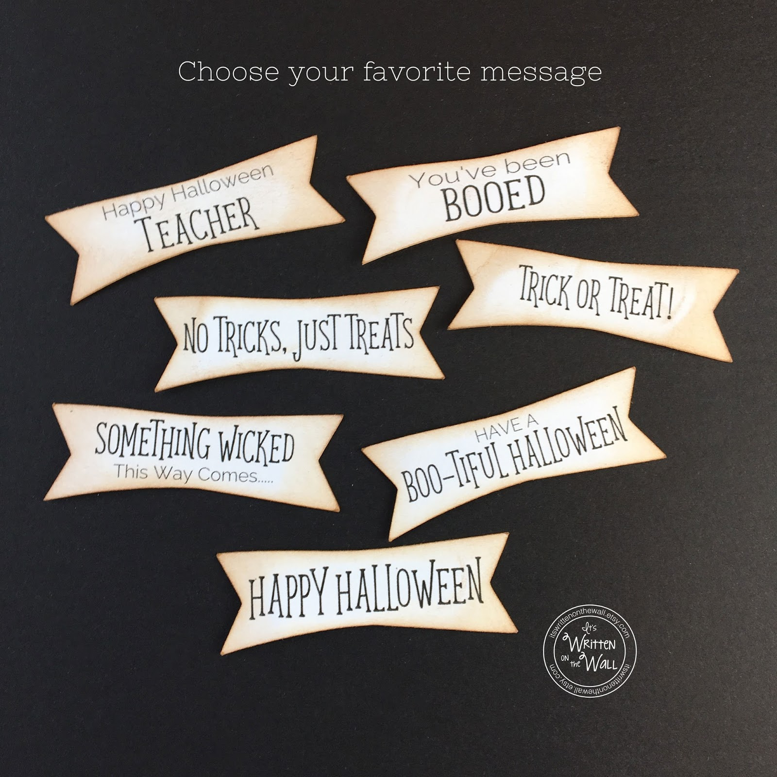 It's Written on the Wall: *Brand New* Ghostly Halloween Tag and ...