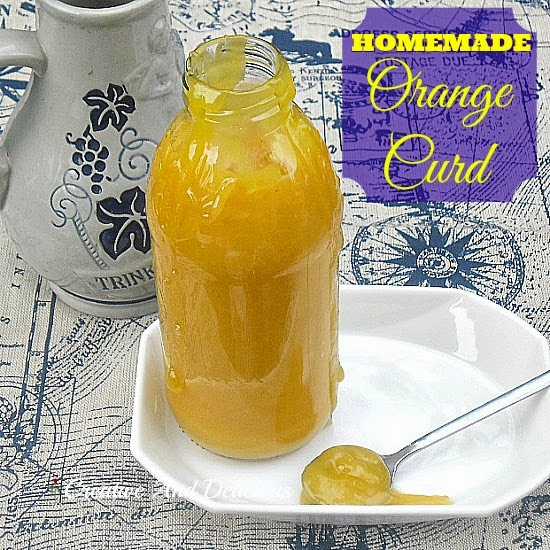 Homemade Orange Curd ~ Sweeter than Lemon Curd and so much better and fresher than store-bought !