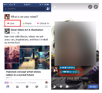 How To Go Live On Facebook From Your Desktop And Phone