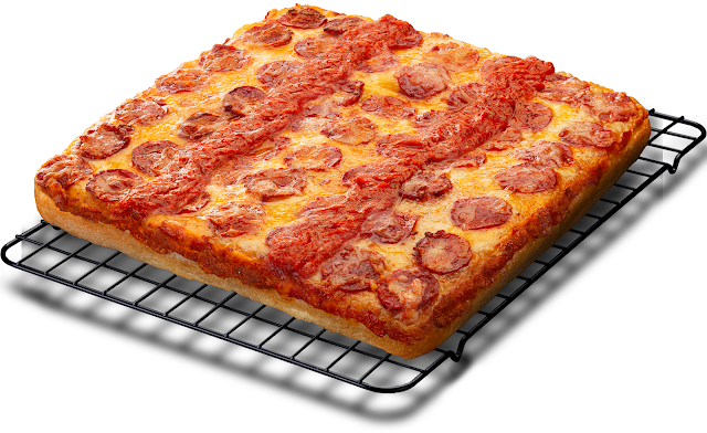Thicky, chewy, and cheesy Detroit Style Pizza — Pepperoni