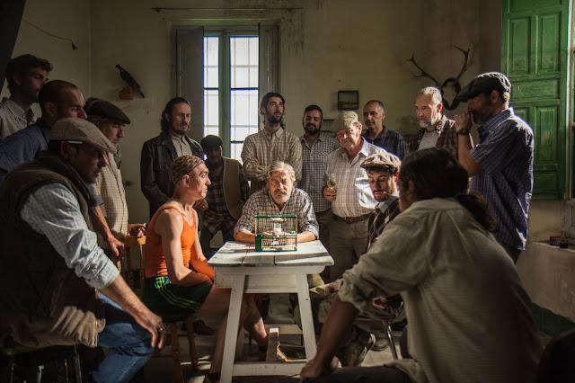 Jaulas película - Nicolás Pacheco - Manuel Cañadas - Antonio Estrada - Antoñito - Canario - Lo que la cultura me dejo