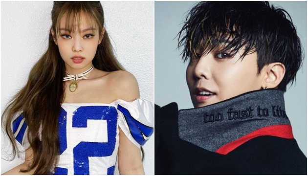 Jennie and g-dragon are still having a good relationship.