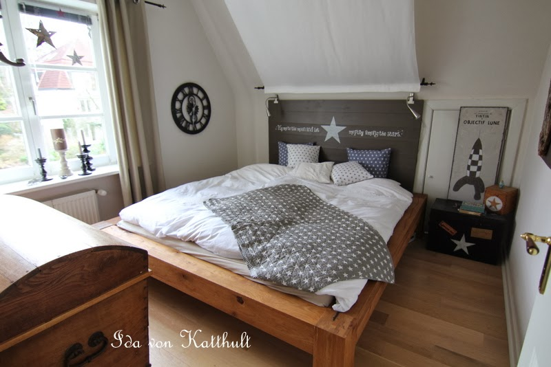 Idas Bloghaus Fly Me To The Moon Das Neue Schlafzimmer