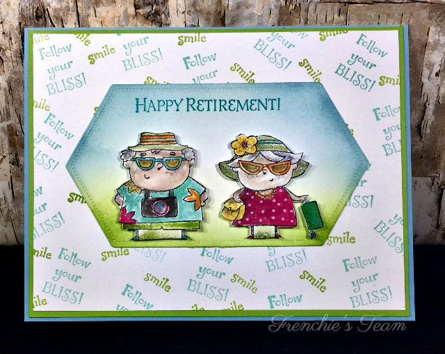 Card, On To Adventure, Happy Retirement, Stampin Blends