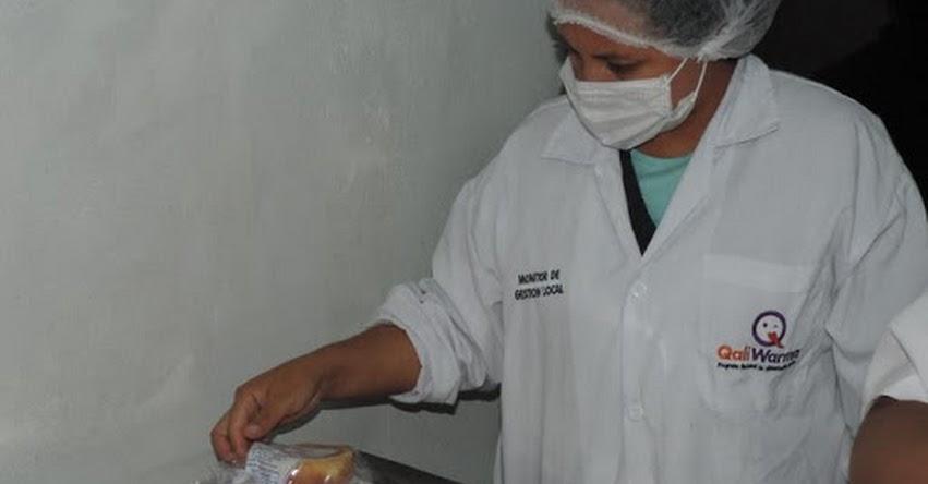 Qali Warma realiza visitas inopinadas a planta de producción de raciones - www.qaliwarma.gob.pe