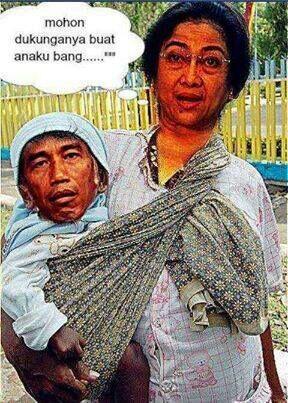 Kumpulan Gambar Lucu Melarang Jokowi Jadi Presiden yang