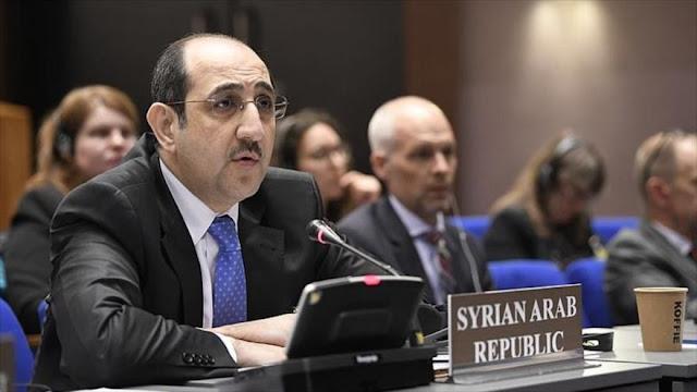 Siria rechaza la resolución de OPAQ sobre uso de armas químicas