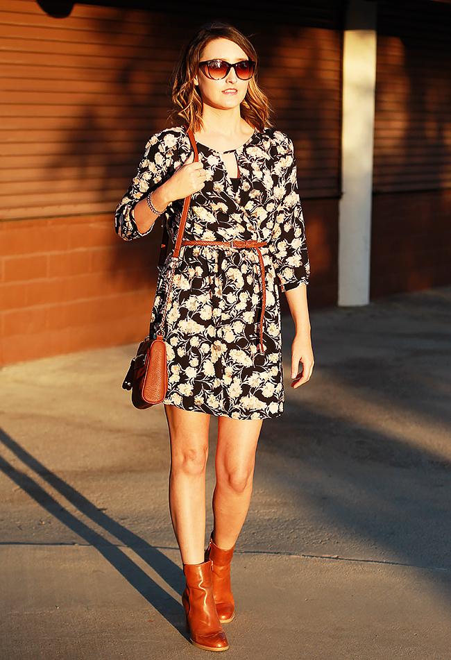 Lush 'Gigi' Skater Dress
