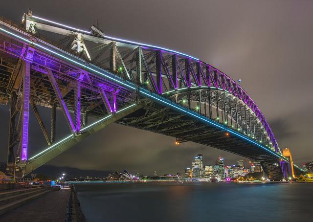 Kaupunki tapetti Sydney Valokuvatapetti maisematapetti harbour bridge