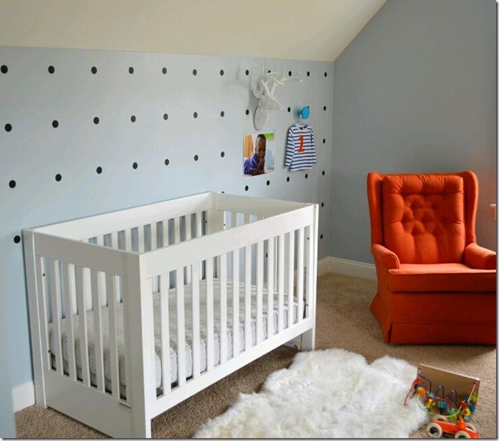 interiors nursery baby