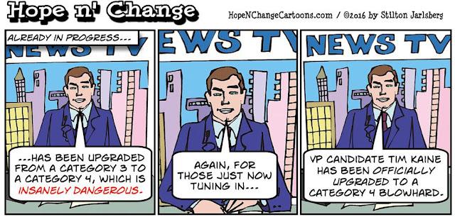 obama, obama jokes, political, humor, cartoon, conservative, hope n' change, hope and change, stilton jarlsberg, tim kaine, hurricane, matthew, fbi, doj, hillary