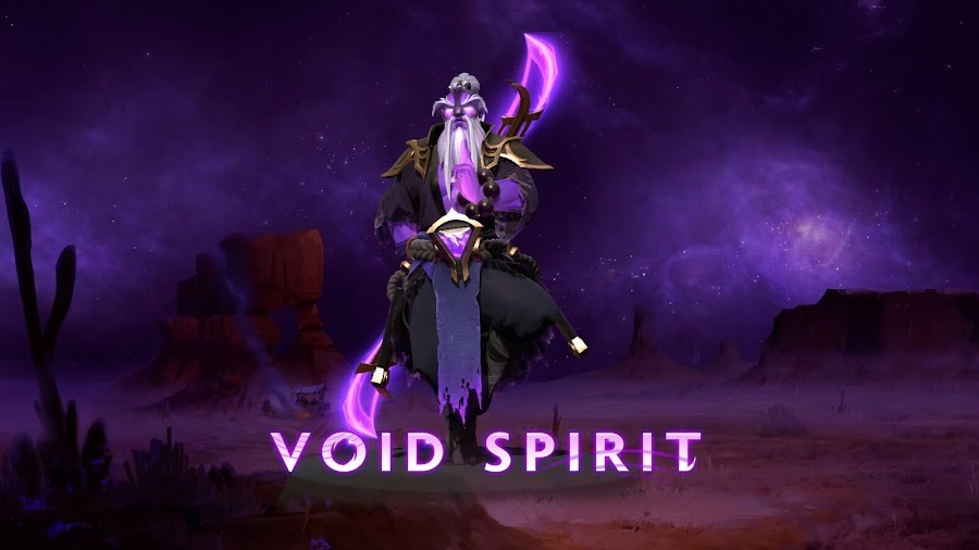 dota 2 outlanders new carry hero void spirit gameplay update 7.23 multiplayer online battle arena moba valve corporation pc steam
