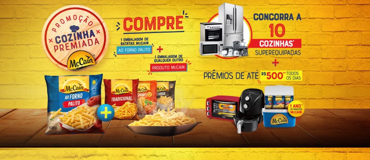 Promoção Batatas McCain 2021 Cozinha Premiada Prêmios Todo Dia e Sorteio Cozinhas Completas