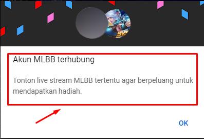 Cara Agar Mendapat Hadiah Saat Nonton Live Stream M1 MLBB Livestream Yotube