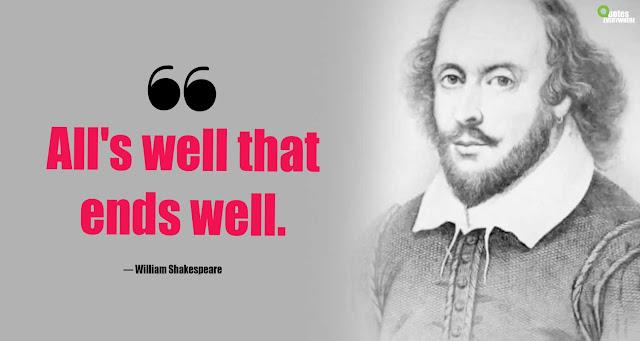 William Shakespeare Quotes On success