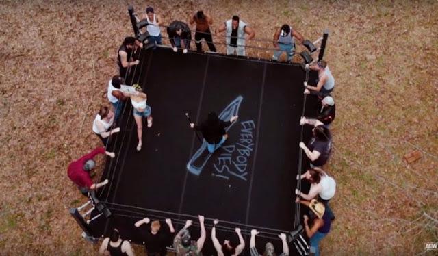 AEW Lance Archer backyard wrestling. StrengthFighter.com