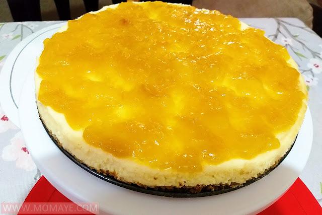 mango, cheesecake, dessert