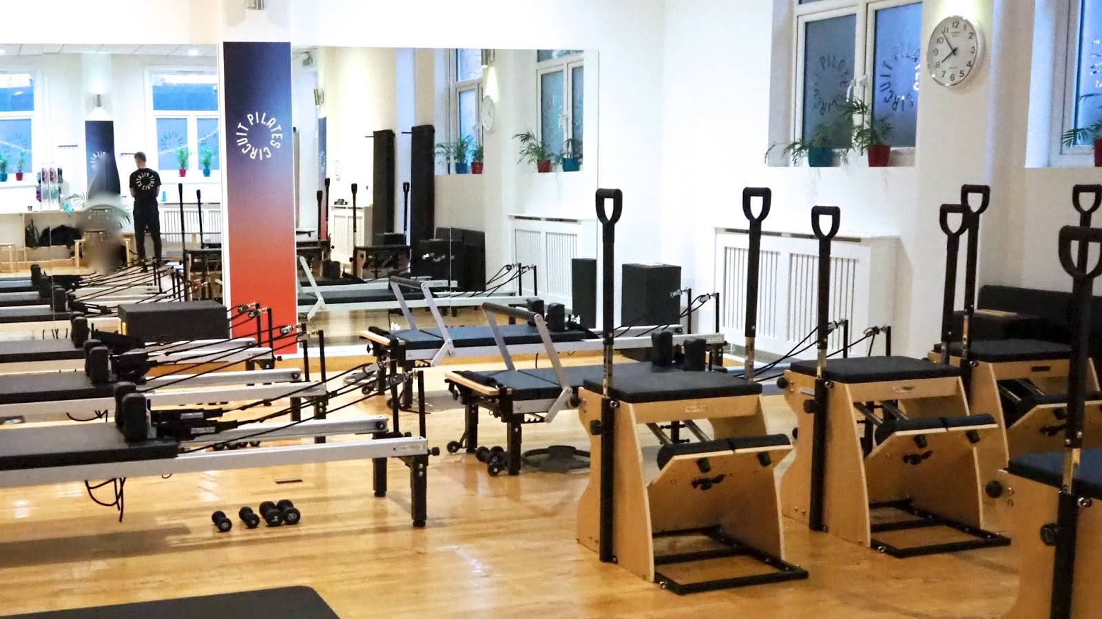 Pilates reformers and Pilates chairs at Pilates Circuit Wandsworth