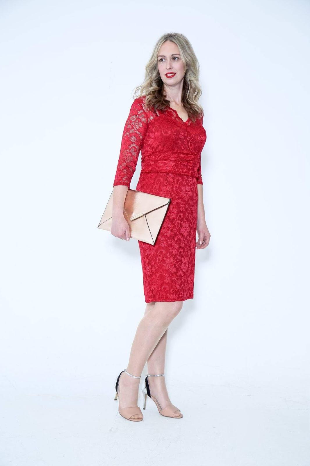 Red Lace Dress: Motivational Monday