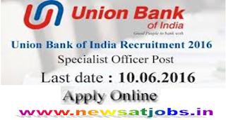 union-bank-of-india-recruitment-2016