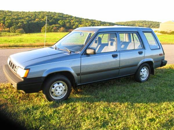 Toyota Tercel Wd Wagon For Sale on 1987 Toyota Tercel 4wd