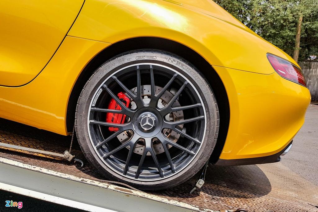 Mercedes-AMG GT S đầu tiên về VN tái xuất sau thời gian ở ẩn