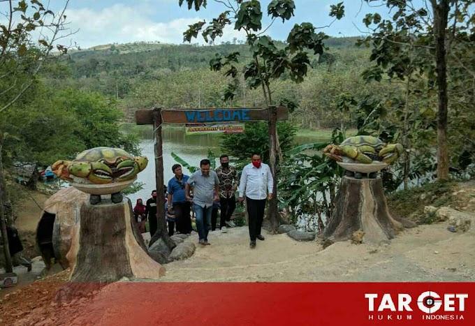 Tinjau Embung Desa Beketel, Wabub Ingatkan Warga Lakukan 3M