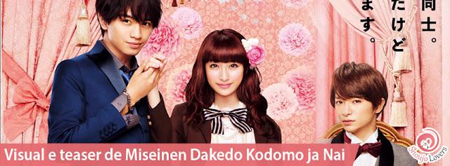 Visual e teaser de Miseinen Dakedo Kodomo ja Nai
