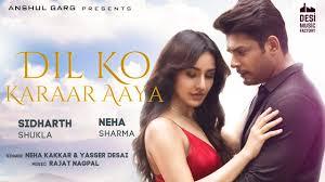 Dil Ko Karaar Aaya Lyrics By Neha Kakkar