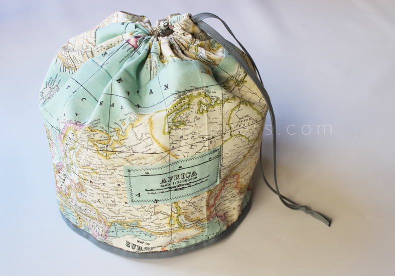 Easy DIY Travel Bag Tutorial