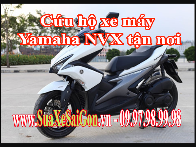 Trung tâm Sửa Xe Sài Gòn giới thiệu dịch vụ Cứu hộ sửa chữa xe máy Yamaha NVX tận nơi tại TpHCM, chỉ cần gọi ngay 0902623186 để được phục vụ nhanh chóng mọi sự cố về xe máy ở trên đường.