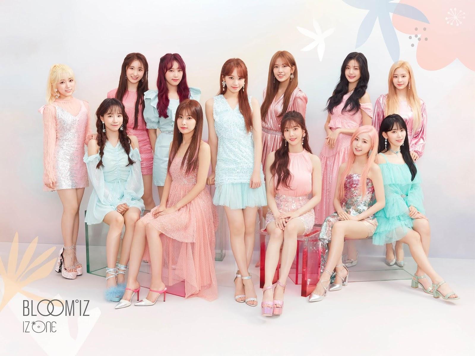 IZ*ONE Officially Cancels The Release of Album 'BLOOM*IZ'