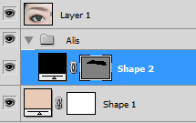 Adobe Photoshop CS4 : How to Create Drawing Vector Eyebrows Tutorial