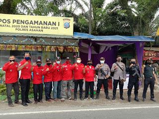 Pemuda Batak Bersatu DPD Sumut Bersinergi TNI-Polri Amankan Perayaan Natal