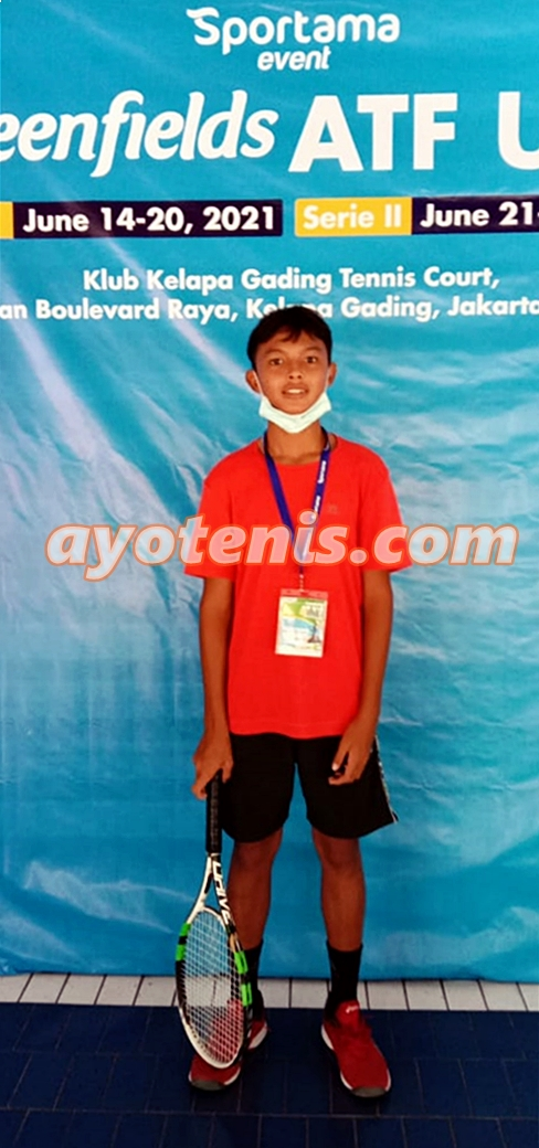 2 Atlet PPLPD Kalsel Melaju ke Babak 16 Besar Greenfields ATF 14U by SPORTAMA Seri 2
