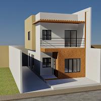 99+ Desain Rumah Sederhana 6x12 Terbaru 2018