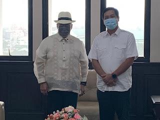 Konjen Filipina Melakukan Kunjungan Kehormatan ke Pemprov Sulut