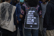 SPI Gelar Aksi Tolak RUU Omnibus Law. Wakil Baleg Willy : Pembahasan Tak Akan Dihentikan