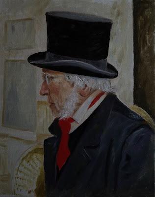 Ebenezer Scrooge Painting