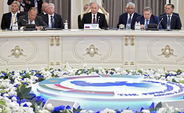 П'ять країн підписали Конвенцію про правовий статус Каспійського моря, робота над якою тривала 22 роки