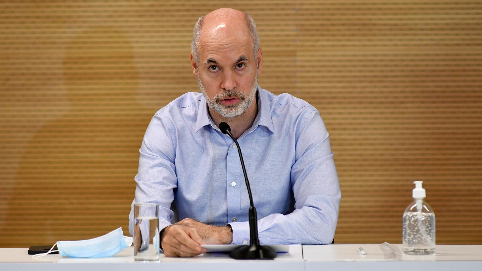 """Horacio Rodríguez Larreta: """"Basta de este gobierno que quiere que adoctrinemos a los chicos en la escuela"""""""