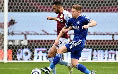 ملخص واهداف مباراة استون فيلا وليستر سيتي (1-2) الدوري الانجليزي