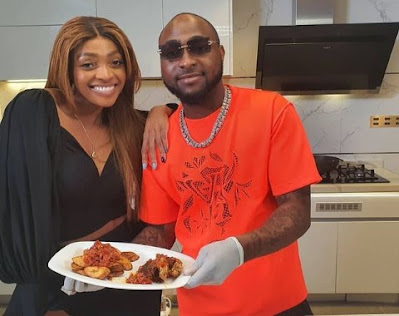 Davido Flaunts His Cooking Skills As Joins His Sister, Sharon In The Kitchen (Video)